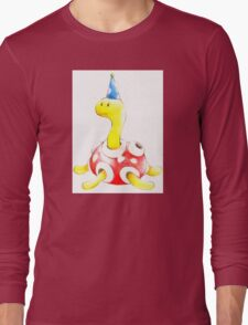 Shuckle in a Party Hat Long Sleeve T-Shirt