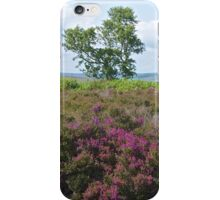 Alone on the moors. iPhone Case/Skin