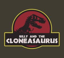 Billy and the Cloneasaurus shirt – The Simpsons, Jurassic World, Jurassic Park, Homer Simpson by fandemonium