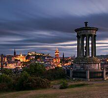 Edinburgh Midsummer Night by Graham Stirling