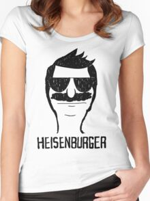 Breaking Bob Heisenburger shirt Women's Fitted Scoop T-Shirt