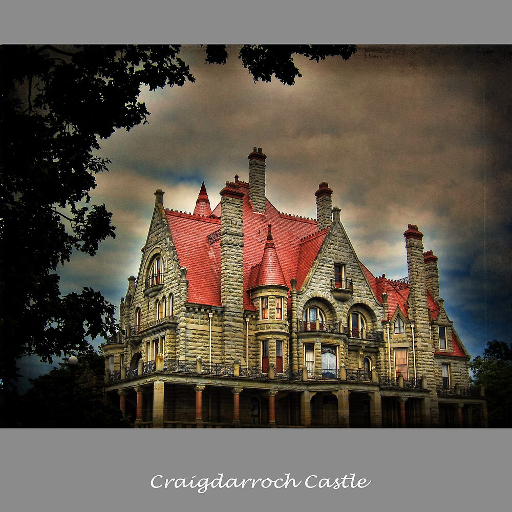 Craigdarroch Castle .. Haunted House ? by Nick  Kenrick Photography