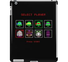 Ninja Turtles - SELECT PLAYER iPad Case/Skin