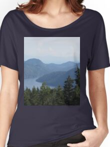 Malahat Scenic Lookout Women's Relaxed Fit T-Shirt