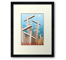 Hit Topic Framed Print