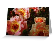 Vintage Roses. Greeting Card