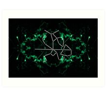 elder scrolls constellations: the warrior Art Print