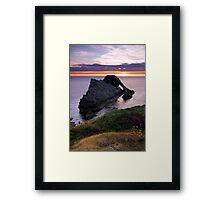 Calm Morning - Bow Fiddle Rock Framed Print