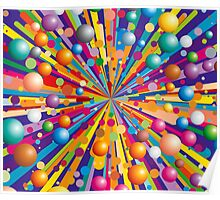 Colorful explode Poster