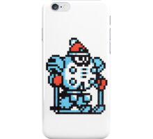 blizzard man iPhone Case/Skin