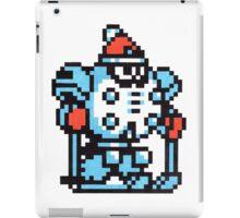 blizzard man iPad Case/Skin