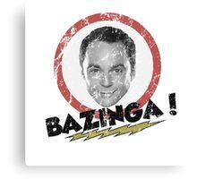 Bazinga! Big Bang Theory Canvas Print