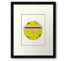 Spongebob Visor Ball Framed Print