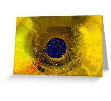 Lost in space. Greeting Card