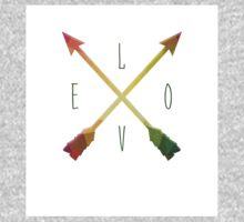 LOVE Arrows Baby Tee