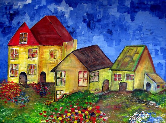 Houses and homes by Elizabeth Kendall