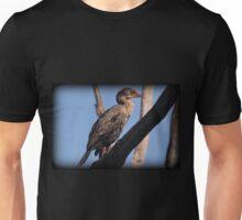 Juvenile Cormorant Perch Unisex T-Shirt