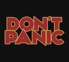 Dont Panic - The Hitchhiker's Guide to the Galaxy T-Shirt