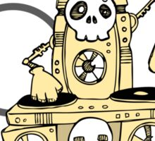 Robo DJ Sticker