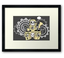 Robo DJ Framed Print