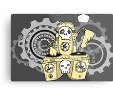 Robo DJ Metal Print