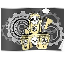 Robo DJ Poster