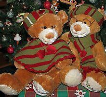 Christmas Bears by Vivian Sturdivant