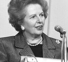 Margaret Thatcher by David Fowler