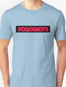 Pogoshots logo painted black T-Shirt