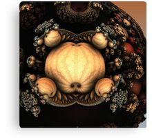 FRACTAL PUMPKIN Canvas Print