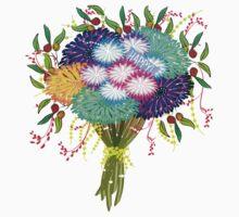 BOUQUET FLOWERS Kids Tee