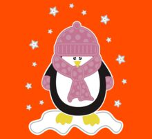 Baby It's Cold Outside [Girl Penguin] Kids Clothes