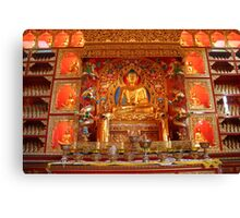 Shrine of the Buddha Canvas Print