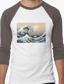 Sea is for Cookie.  Men's Baseball ¾ T-Shirt