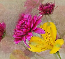 Fresh Flowers Painted by Judy Vincent
