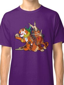 Old Queens of the Past - Scar and Shere Khan Classic T-Shirt