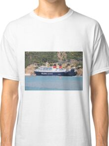 Ferry departure, Skopelos Classic T-Shirt