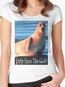 Help Save The Gulf Women's Fitted Scoop T-Shirt