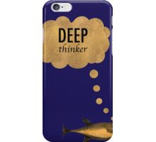 Deep Thinker iPhone Case/Skin