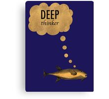 Deep Thinker Canvas Print