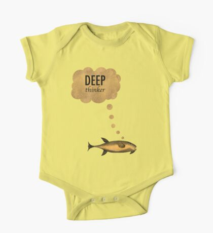 Deep Thinker Kids Clothes