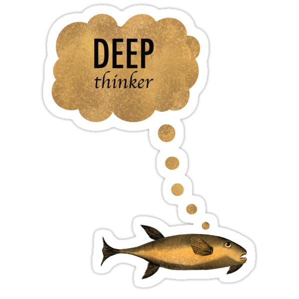 Deep Thinker by SusanSanford