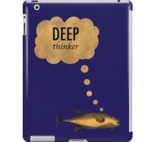 Deep Thinker iPad Case/Skin