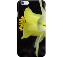 Yellow Columbine iPhone Case/Skin