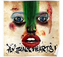 Fly Black Hearts! Poster