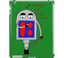Bored of the Rings iPad Case/Skin