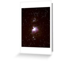 M42 - The Great Orion Nebula Greeting Card