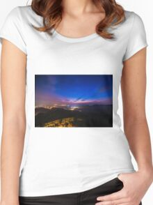 Japan Nights Women's Fitted Scoop T-Shirt
