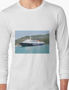 Express Pegasus ferry, Skopelos Long Sleeve T-Shirt