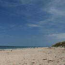Bamburgh beach by nathanw08